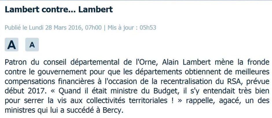 Parisien Lambert contre Lambert