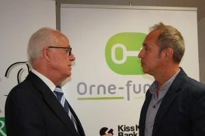 Alain Lambert et Vincent Ricordeau co-fondateur de KissKissBankBank