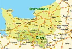 Nouvelle délimitation des arrondissements du département de l'Orne. - Alain Lambert